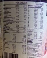Infatrini - Informations nutritionnelles - fr