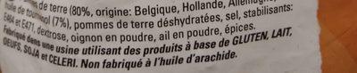 Golden Croquettes - Ingredients