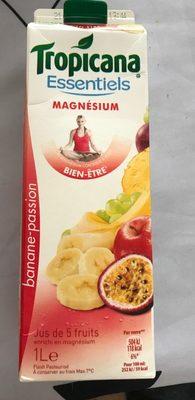 5 fruits ananas pomme banane passion raisin - Product