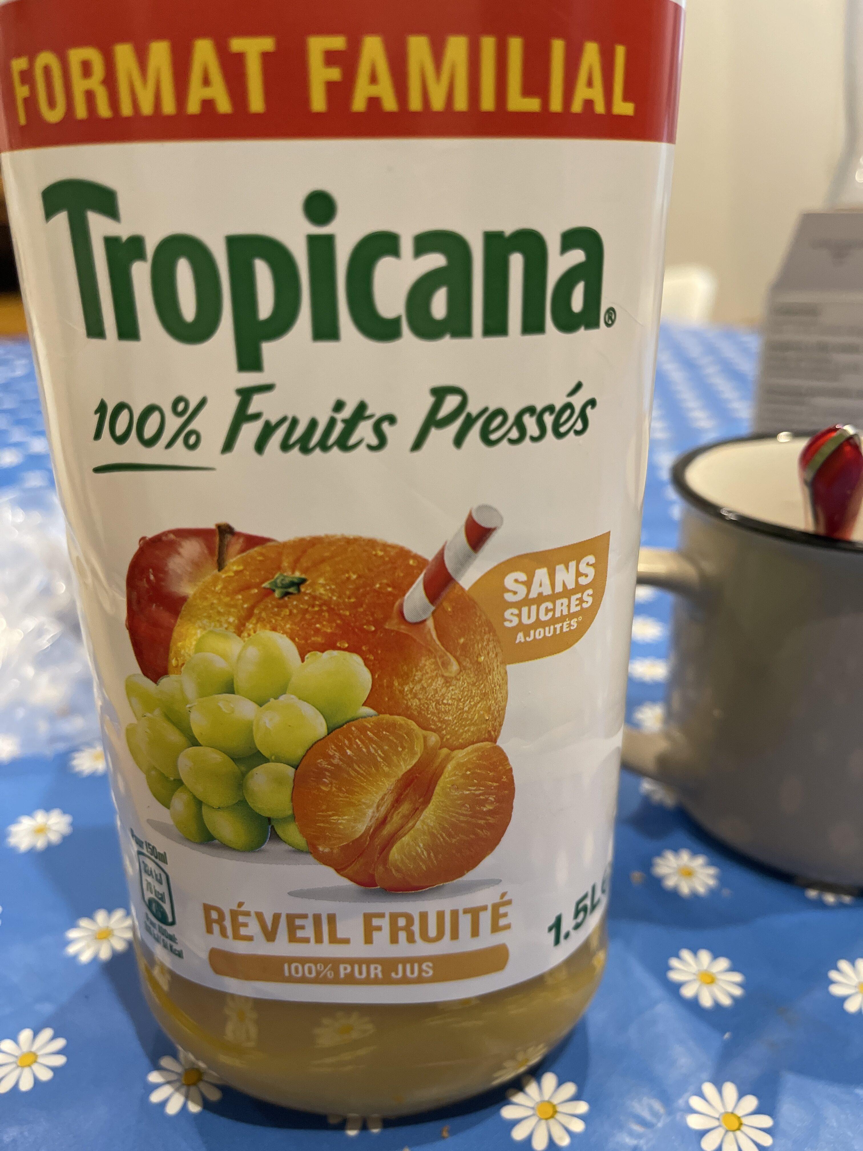 Jus Réveil fruité - Recyclinginstructies en / of verpakkingsinformatie - fr
