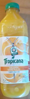 Pure Premium Orange sans pulpe 100% pur jus - Product