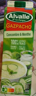Soupe froide de concombre & menthe - Product - fr