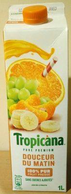 100% pur fruit pressé - douceur du matin - Producto