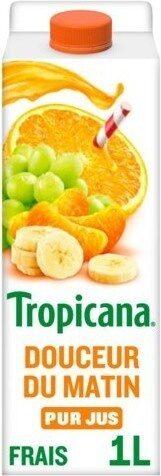 Douceur du matin 4 fruits pressés - Produit - fr