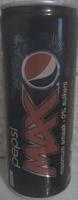 Pepsi MAX - Produit - fr