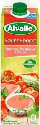 Soupe froide Tomate, Pastèque & Menthe - Product - fr