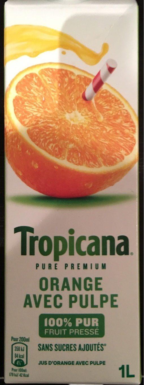 Pure Premium Orange avec Pulpe pressée - Product - fr