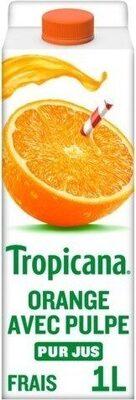 Jus d'orange avec pulpe - Prodotto - fr