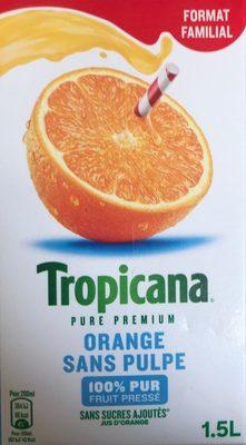 Pure Premium Orange sans pulpe (format familial) - Product