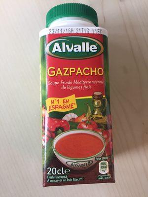 alvalle soupe froide gazpacho la brique de 20 20 cl. Black Bedroom Furniture Sets. Home Design Ideas