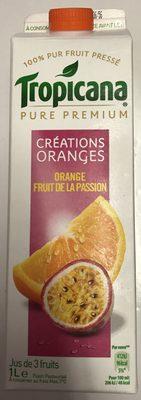 Pure Premium Créations Oranges Orange Fruit de la Passion - Product