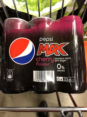 Pepsi max chery - Produit