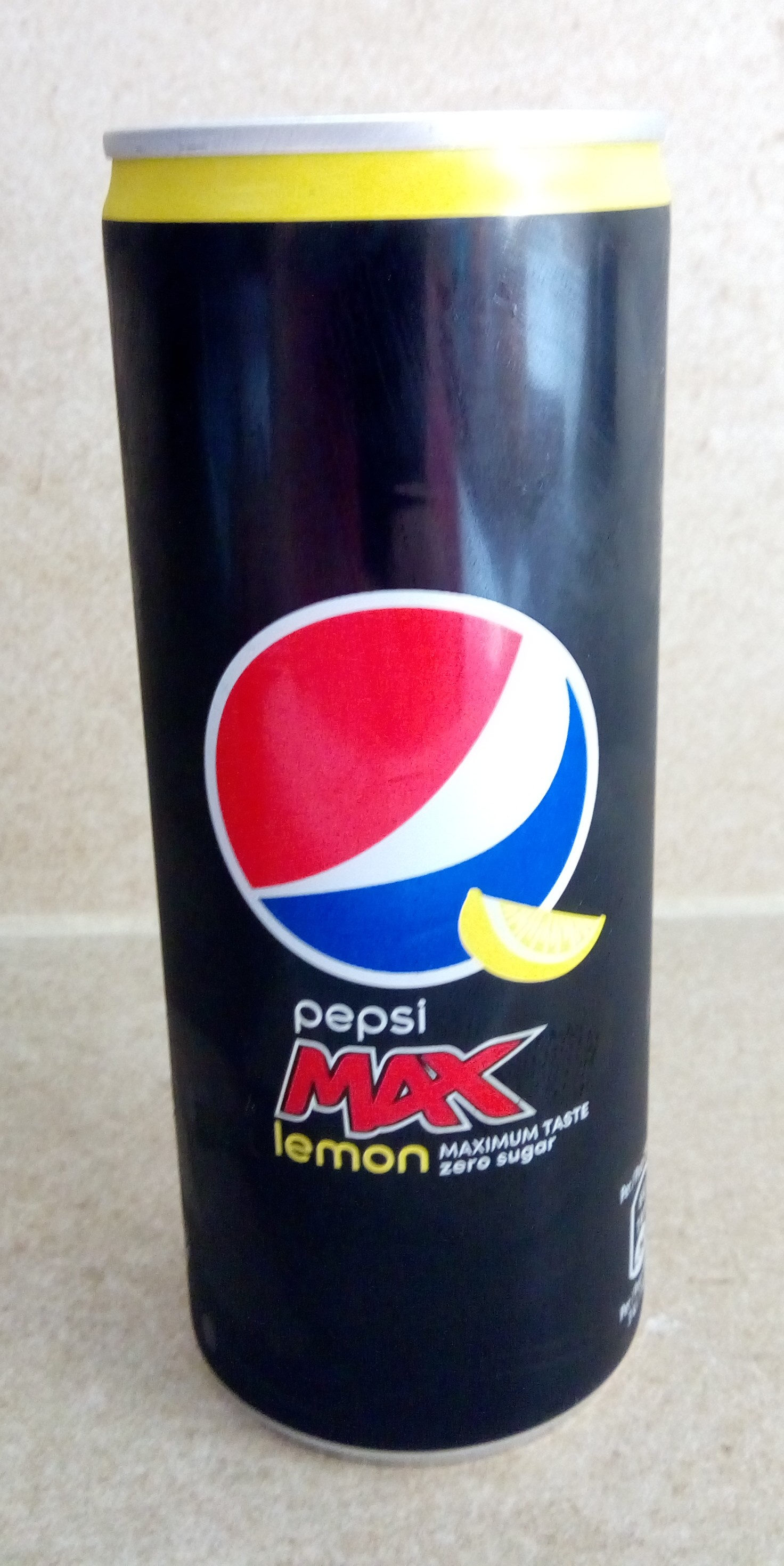 Pepsi max lemon - Product
