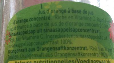Looks orange - Ingrediënten - fr