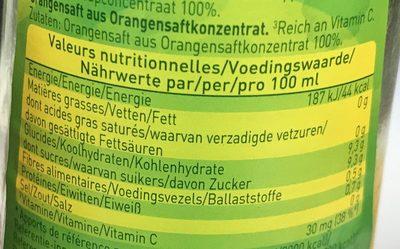 Looks orange - Voedingswaarden - fr