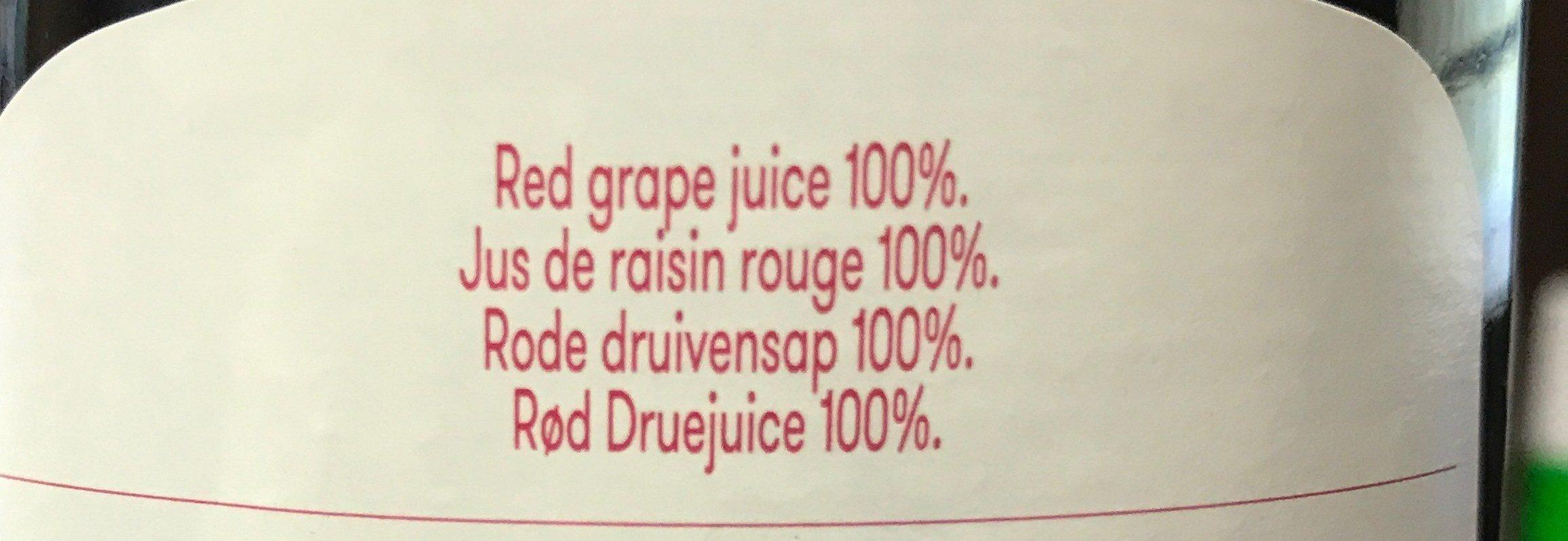 Jus de Raisin 1L - Ingredienti - fr