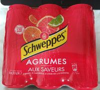 Schweppes agrumes - Produit - fr