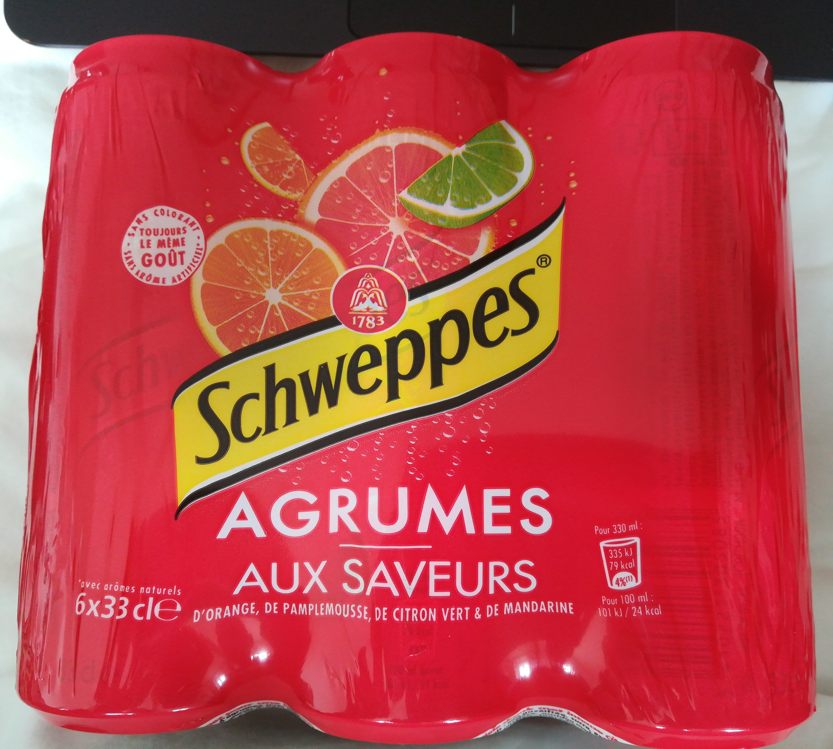 Schweppes agrumes - Prodotto - fr