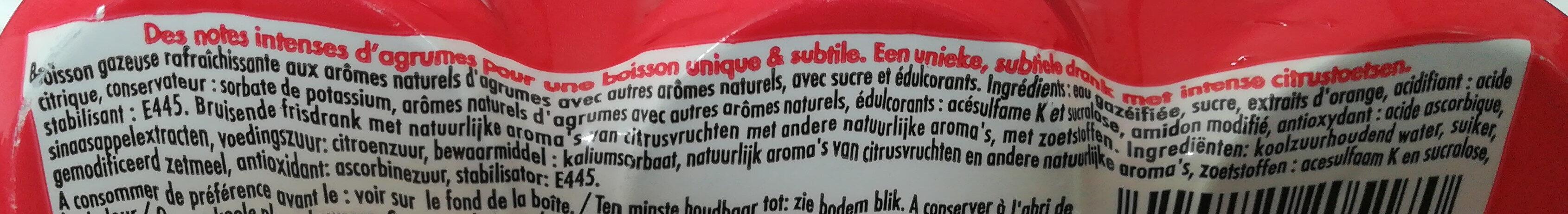 Schweppes agrumes - Ingrédients - fr