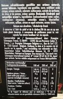 Tonic & hibiscus - Informations nutritionnelles - fr