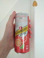 Schweppes Agrumes Zero - Product - fr