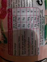 May Tea Framboise - Informations nutritionnelles - fr