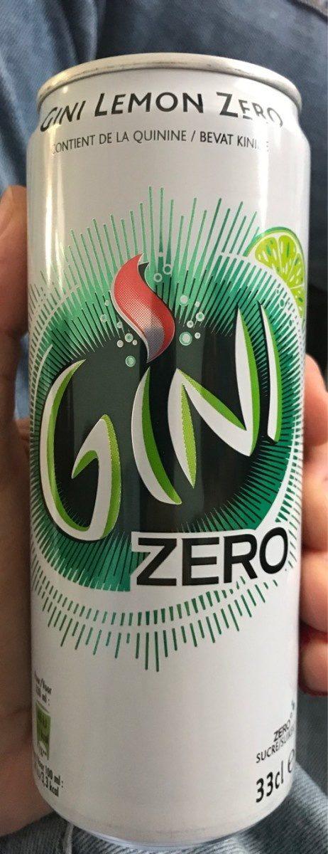 Gini Lemon Zero - Produit - fr