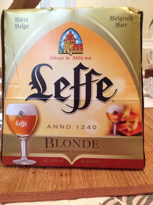Leffe Blonde - Product
