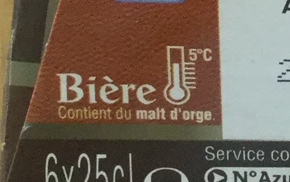 Brune Bière - Ingredienti - fr