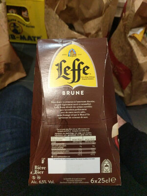 Brune Bière - Valori nutrizionali - fr