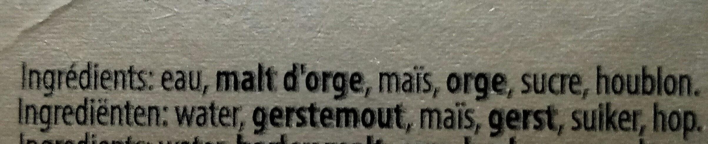 Leffe - Ingrédients - fr