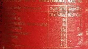 Bière Jupiler (5,2° - 33CL. ) - Voedigswaarden