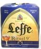 Rituel 9° Bière belge - Produit