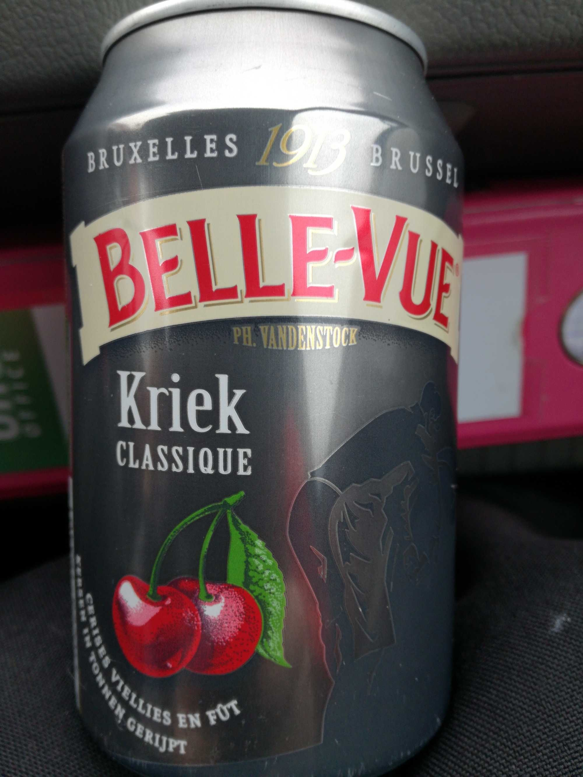 Belle-vue Beer With Cherry Flavor - Classique - Product - fr