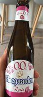 Hoegaarden rosé 0% - Produit - fr