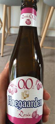 Hoegaarden rosé 0% - Produit