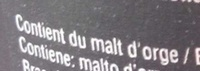 Leffe Royale - Ingredients - fr
