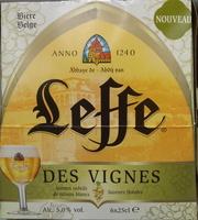 Leffe des Vignes - Produit