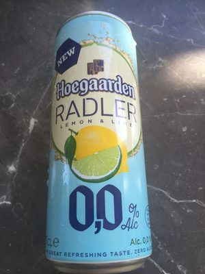 Hoegaarden radler lemon - Product