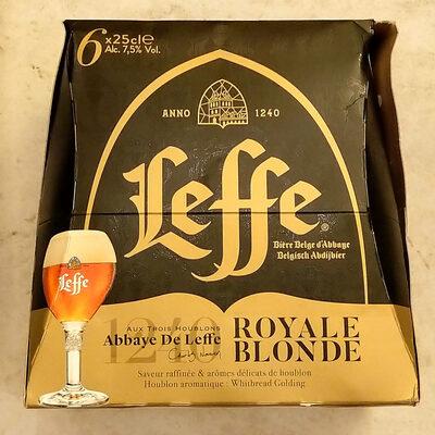 Leffe Royale Blonde - Product - fr