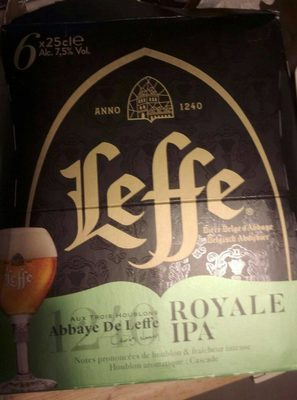 Leffe Royale IPA - Product - fr