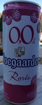 Hoegaarden rosée sans alcool - Produit - fr