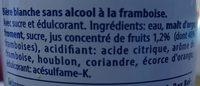Hoegaarden rosée sans alcool - Ingrédients - fr