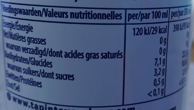Hoegaarden rosée sans alcool - Informations nutritionnelles - fr