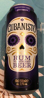 Cubanisto rum flavoured beer - Product
