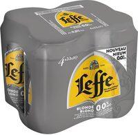 Leffe Blonde 0,0% alcool - Prodotto - fr