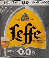 Leffe blonde 0% - Prodotto - fr