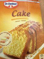 Cake - Ingrediënten