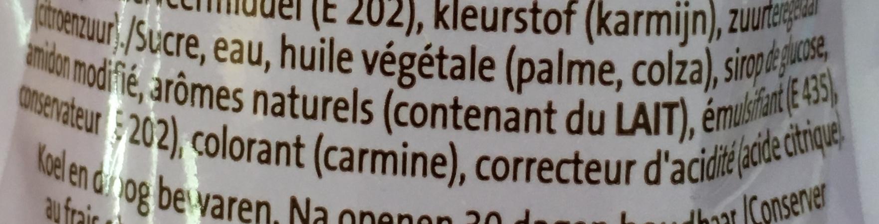Topping - Ingrediënten - fr
