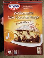 Cake Cœur de Nuage Marbré - Product